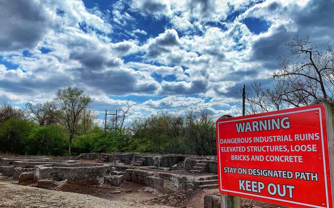 Take a unique hike at Joliet Iron Works Historic Site