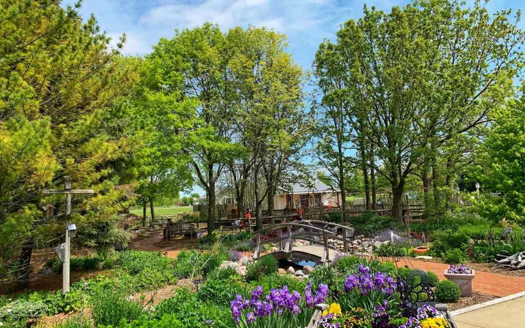 A Whimsical Time at Elwood Children's Garden