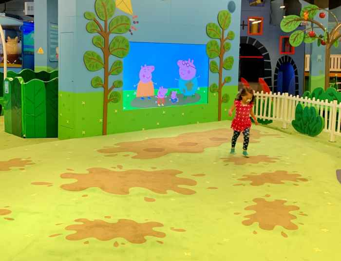 Bring your littles to the Peppa Pig World of Play at Woodfield with 14 different play areas including a car wash, treehouse, and more.