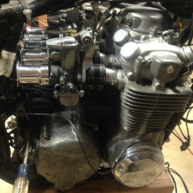 First run of the engine…