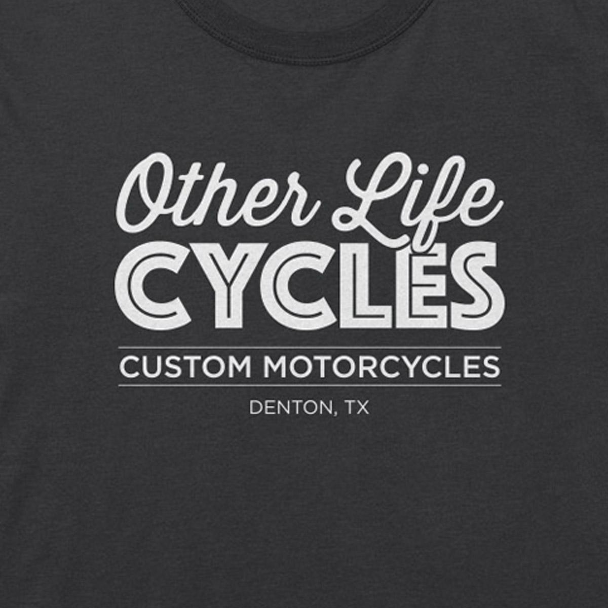 Other Life Cycles O. G. logo Tee – Gray