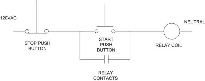 Wiring diagram for start stop station for Start stop motor control diagram