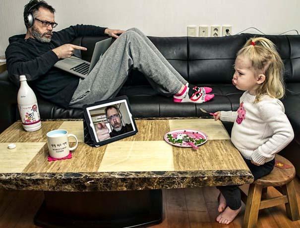 Πατέρας και κόρη σε απίθανες φωτογραφίες (18)