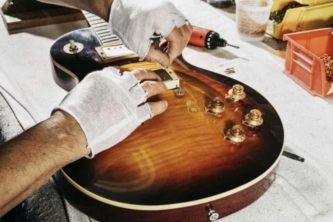 Πως φτιάχνονται οι κιθάρες Gibson Les Paul (10)