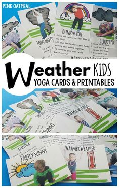 weather kids yoga great for morning meeting or circle
