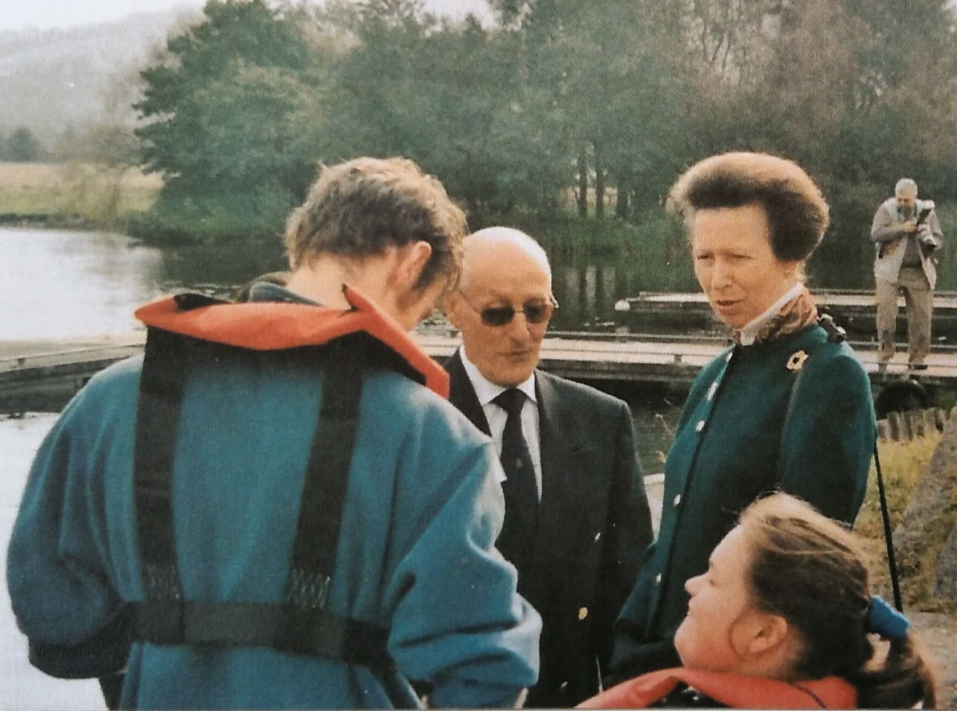 Image result for Otley Sailing Club with Princess Anne