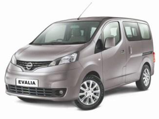 Spesifikasi Singkat Mobil Nissan Evalia terbaru