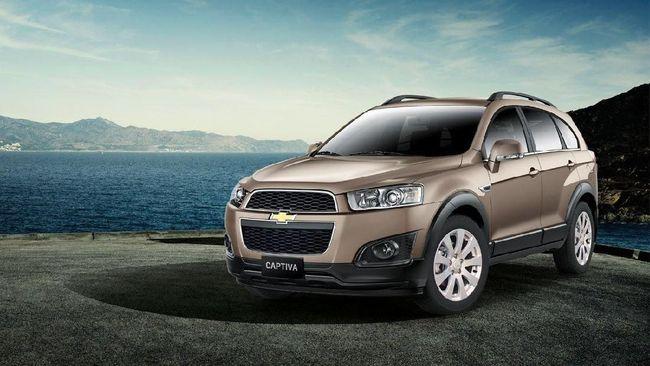 Mobil Badak Chevrolet Captiva