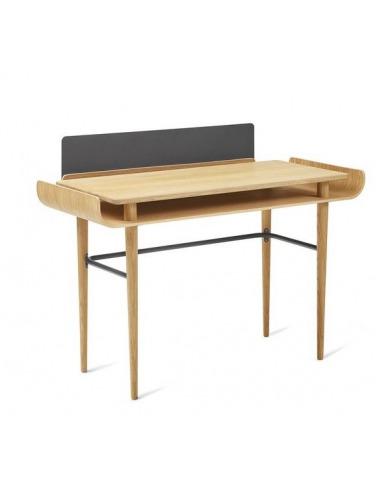 bureau gapa en bois de chene au design scandinave et vintage par tabanda