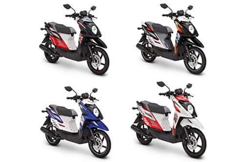 Wow Yamaha X Ride Tampil Dengan Warna Baru Yang Lebih