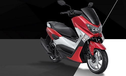 Yamaha NMAX Klimax RedYamaha NMAX Klimax Red