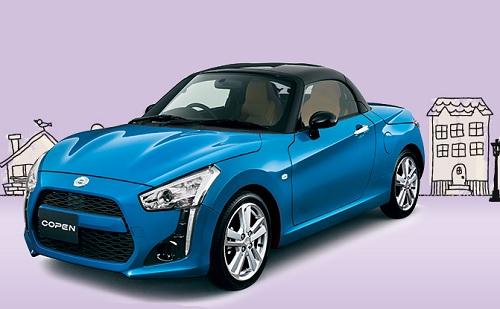 Spesifikasi dan Harga Daihatsu Copen
