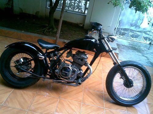 Modifikasi Honda Tiger Chopper