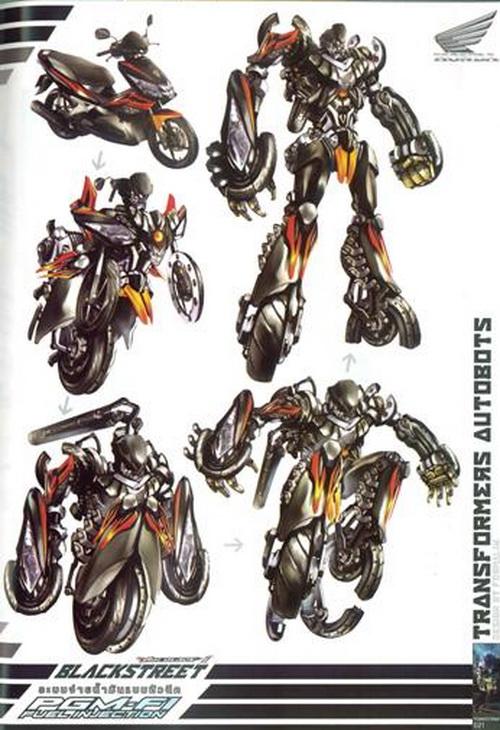 honda transformers 3