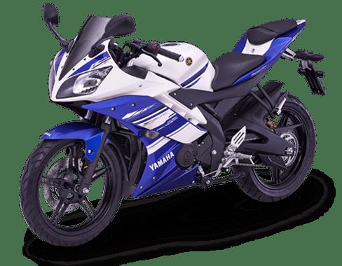 Yamaha R15 motor-blue