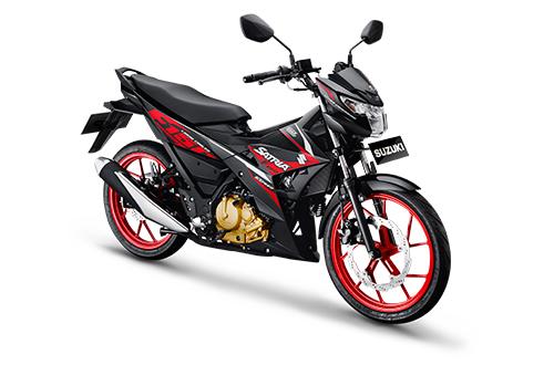 AllNew-SuzukiSatria-Titan-BlackSolid-Blaxk-RedCW 2016 otomercon