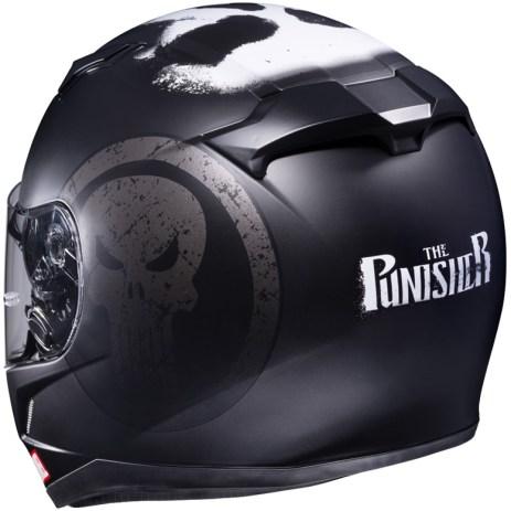 Helm HJC the Punisher otomercon