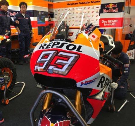 RC21V Marquez Saat Race Mugello 2016