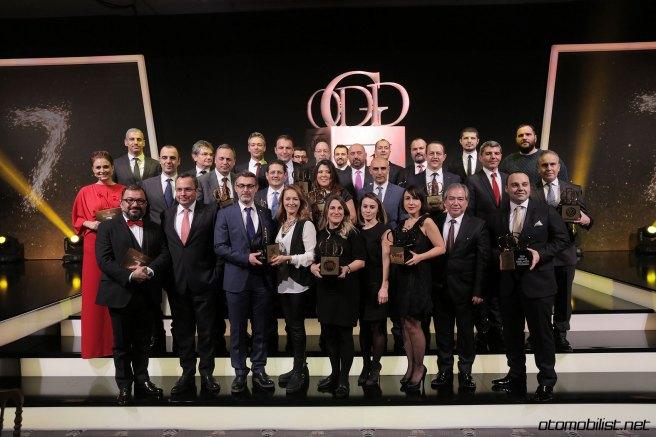 2017 ODD Gladyatör ödül töreni 2016 gladyatörleri toplu