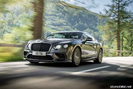 Bently 2017 Continental Supersports dynamic
