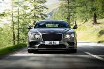 Bently 2017 Continental Supersports dynamic front