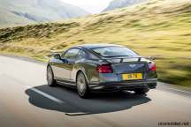 Bently 2017 Continental Supersports dynamic rear