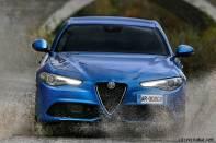 Alfa Romeo Giulia Veloce front grill