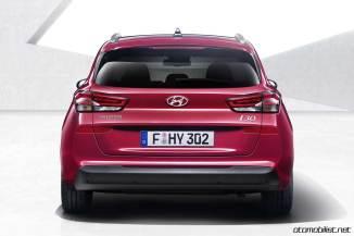 yeni Hyundai 2018 i30 Tourer SW arka