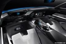 Peugeot Instinct Concept Konsol