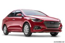 2018 Hyundai Accent Red