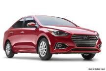 2018 Hyundai Accent Red