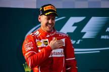 Formula 1 Avustralya GP Sebastian Vettel