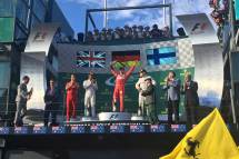 formula 1 australia podium