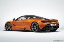 2018 McLaren 720S arka taraf