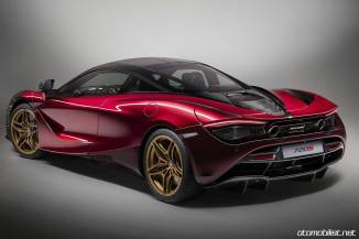 2018 McLaren 720S Velocity Bordo