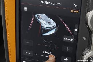 2018 McLaren 720S dokunmatik ekran