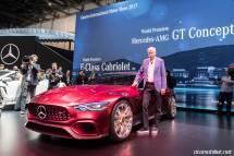 Mercedes-AMG GT Concept Cenevre Fuar