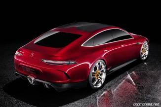 Mercedes-AMG GT Concept Cenevre Motor