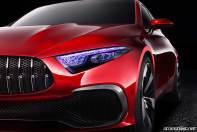 2017 Mercedes A Sedan Concept