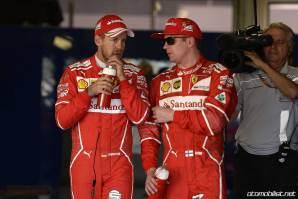 2017 Formula 1 Rusya GP Sebastian Vettel Kimi Räikkönen