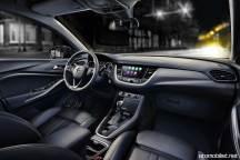 2018 Opel Grandland X konsol