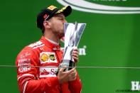 2017 Formula 1 Chinese Grand Prix Sebastian Vettel podyum Ferrari