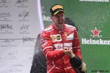 2017 Formula 1 Chinese Grand Prix Sebastian Vettel celebrate Ferrari