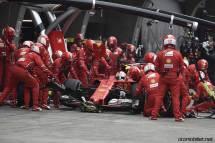 2017 Formula 1 Chinese Grand Prix Vettel pit-stop-Ferrari