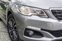 2017 Peugeot 301 daytime running lights fog lights