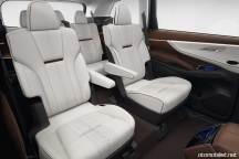2018 Subaru Ascent SUV Concept arka koltuklar