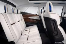 2018 Subaru Ascent SUV Concept 3. sıra koltuklar