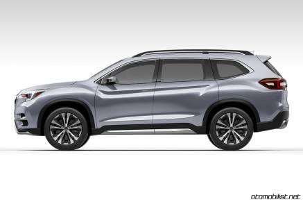 2018 Subaru Ascent SUV Concept yan taraf