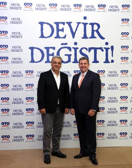 ALJ Holding CEO'su Ali Haydar Bozkurt-Otoshops Genel Müdürü Tuğrul Denizaşan-02