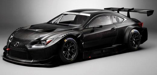Lexus 'un Rc F Modeli Yarış Otomobili Oldu